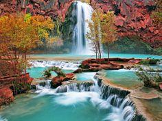 Fond d'ecran Cascade magnifique