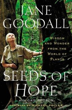 SEEDS OF HOPE takes us from Goodall's home in England to her home-away-from-home in Africa, deep inside the Gombe forest. She introduces us to botanists around the world, as well as places where hope for plants can be found, such as The Millennium Seed Bank. She shows us the secret world of plants with all their mysteries and potential for healing our bodies as well as Planet Earth. Goodall delivers an enlightening story of the wonders we can find in our own backyards.
