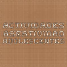 actividades asertividad adolescentes