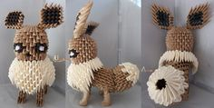 3D Origami - Eevee by Unknown-Author - Inspirational Post 6 Superb 3D Origami Design