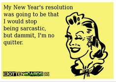 Rottenecards | posted in uncategorized tagged humor new year s resolutions rotten ...