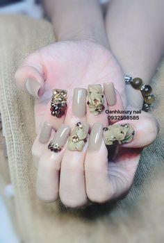Nails & Co, Bling Nails, 3d Nails, Acrylic Nails, Stone Nail Art, Curved Nails, 3d Nail Designs, Design Salon, Sexy Nails