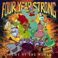 "𝘼𝙡𝙗𝙪𝙢𝙨 𝙤𝙛 𝘽𝙞𝙠𝙞𝙣𝙞 𝘽𝙤𝙩𝙩𝙤𝙢 🦀 on Instagram: ""**Submission Sunday** Submitted by @pilexdriver  Four Year Strong - Enemy of the World (2010) . . #fouryearstrong #enemyoftheworld #pop…"""