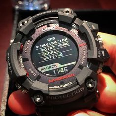 New G-Shock Rangeman GPR-B1000-1 with GPS Navigation – G-Central G-Shock Watch Blog