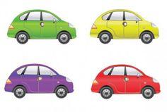colour vector cars