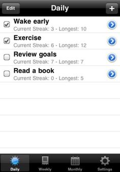 HabitMaster, an app that builds positive habits