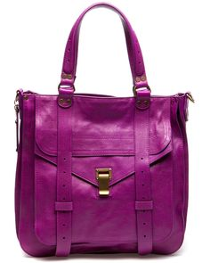 Proenza Schouler | Leather Tote- I have a lipstick from Smazhbox=same color!