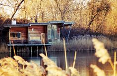 Lake house in Christiana, Denmark--the place I believe Molly was telling me of. Cannot find more information, though there is a longer post at this address with photos of other houses in that area: http://tinyhouseblog.com/tiny-house-concept/christiania-tiny-houses/