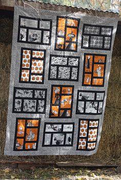 Halloween Quilt w/ Ghastlie fabric