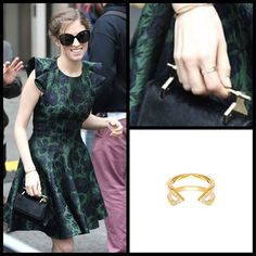 Could not be more excited that Anna Kendrick was wearing our #Gold and #Diamond #Dagger and #Midi Dagger rings at #BBCRadio1 in #London last week. Styled by @cristinaehrlich✨  #annakendrick #lovethisPitch #pitchperfect2  #finejewelry #rachelkatzjewelry www.rachelkatzjewelry.com