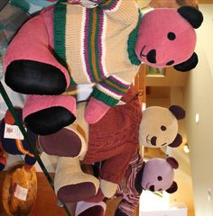 Bears by RTM member Susan Moore. Just a sample of what you will find when you visit Heartwood: Southwest Virginia's Artisan Gateway in Abingdon, VA