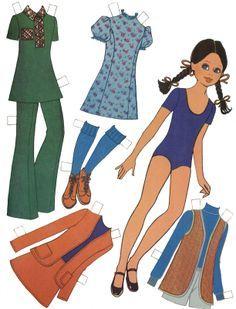 mor, mie, mills paper dolls | ॣ•͈ᴗ•͈ ॣ)♡ Mujeres