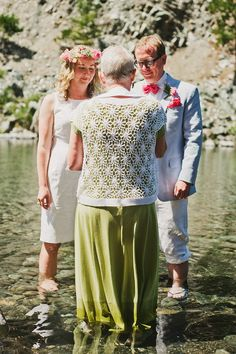 What about getting married in the water?