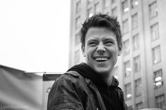 Cory Monteith photography black and white celebrities memorial