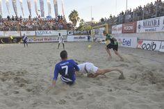 #BeachSoccer:Il #gol di #Frainetti da posizione quasi impossibile