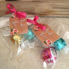 GREAT IDEA FOR WEDDING FAVORS White Chocolate LINDOR Truffles
