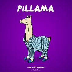 Pillama, pijama, llama