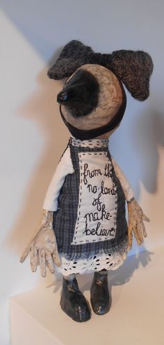 A new little friend, for me, from the Julie Arkell Exhibition' Away'