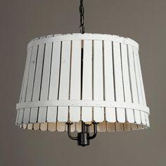 Whitewash bushel basket lantern washed color wooden bushel baskets