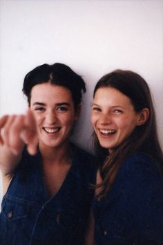 Fran and Kate 1990