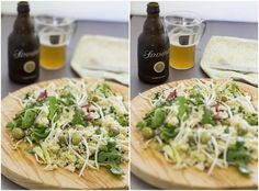 Clavel's Cook: Salada de couscous, rúcula, presunto, rebentos... E mais coisas super saborosas.