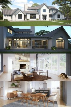Normande | Minden | Pinterest | Modern Farmhouse Design, Modern Farmhouse  Kitchens And Farmhouse House Plans