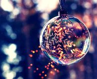 Glass bulb ornament