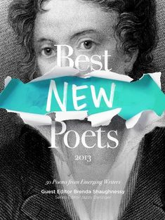Best New Poets cover book design. cover design. jacket design. photoshop compositing. photoshop manipulation. typography. graphic design. visual communication.