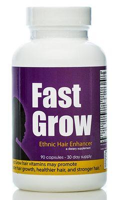 Black Hair Vitamins For Faster Hair Growth!!!!!