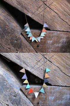 A bunting necklace yes!