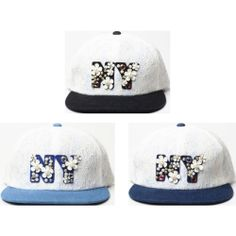 New Ladies Gem Rhinestone Stud Flat Brim Cap Women Lace Design Snapback Hat H41 | eBay
