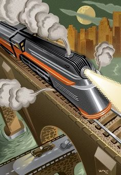 Let's hope that National Train Day helps to get the nation back on track to some kind of sensible inter-modal travel in the coming years