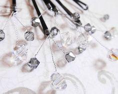 Perla Bobby Pins elegante perla Swarovski por embellishingyou