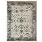 Home Decorators Collection Old Treasures Gray 7 ft. 10 in. x 9 ft. 10 in. Area Rug 25167 at The Home Depot - Mobile