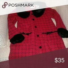 Dress coat Light weight more like a fancy sweater Jackets & Coats