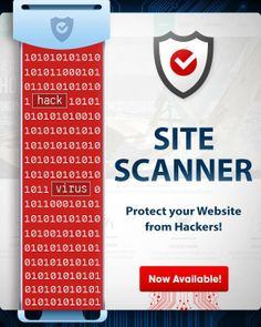 Can your brand or business afford to get hacked? Site Scanner has your back.   Don't risk your security or reputation.   Find out more, and get protected instantly here: http://www.crazydomains.com/website-protection?promo=Fbsecure