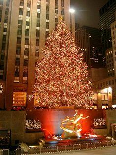 Rockefeller Center...during Christmas