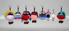 F ENDI welcomes the newly arrived in the bag charms category: the FENDI Wonders , small and fun puppet-like charms each with a dif. Trendy Handbags, Fashion Handbags, Purses And Handbags, Fendi Purses, Fendi Bags, Fendi Fur, Popular Purses, Juicy Couture Charms, Novelty Bags