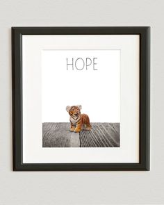 Title: The Baby Tiger Hope Want it customized? I can also change the word Hope at the top to any word youd like including names just check out this customize listing below with your order and youll have your own personalized print. Baby Room Art, Baby Room Decor, Nursery Decor, Baby Art, Baby Rooms, Safari Animals, Baby Animals, Art Deco Party, Kid Essentials