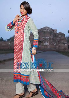 Khaadi Eid ul Fitr Lawn Suits 2014 UK  Buy Online Khaadi Eid ul Fitr Lawn Suits 2014 in London and Birmingham, United Kingdom. Complete Sets in Wholesale Prices for Resellers. by www.dressrepublic.com