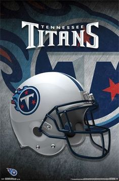 Tennessee Titans Helmet Logo 22 X 34 Inches NFL Poster for sale online Nfl Football Helmets, Football Team Logos, Football Posters, Sports Posters, Sports Logos, Sports Teams, Football Season, College Football, Movie Posters