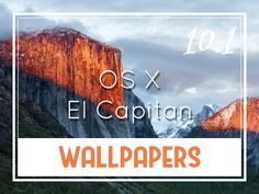 OS X v10.11 El Capitan Default Desktop Wallpapers http://oswallpapers.com/os-x-v10-11-el-capitan-default-wallpapers/ #macOS #Wallpapers #Backgrounds #OSX