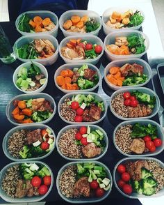 Killer meal prep by @dj_cherr - Want to hit those body goals? Download the best custom meal planning and prepping tool out there to shed fat and build muscle like a pro! - ALL-IN-ONE TOOL & GUIDES -  Build Custom Plans & Set Nutrition Goals  BMR BMI & Max Rate Calculator  Learn Your Macros by Body Type & Goal  Grocery Lists Automated to Weekly Needs  Accurate Cooking and Prep Summaries  Combine & Export Data for Two Plans  Track Your Progress & Daily Allowance  Food Lists for Clean Eating…