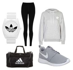"""""""Untitled #22"""" by talaylay on Polyvore featuring adidas, M&S Collection, NIKE, women's clothing, women's fashion, women, female, woman, misses and juniors"""