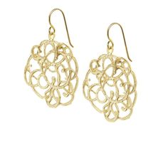Scarlett earrings gold by Touch of Silver