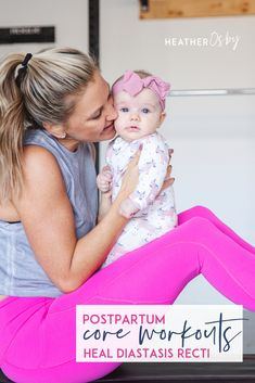 Do these 5 moves to start healing your Diastasis Recti, moves to rebuild your core after pregnancy. Healing Diastasis Recti, Diastasis Recti Exercises, Core Workouts, At Home Workouts, Birthing Ball, Home Exercise Routines, Postnatal Workout, Pregnancy Workout, Healthy Life