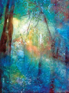 Watercolor Landscape Painting | Heleen Cornet on http://www.artistsnetwork.com