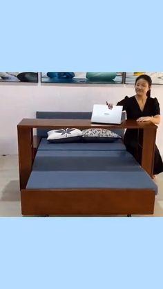 Room Design Bedroom, Bedroom Furniture Design, Home Room Design, Bed Furniture, Home Interior Design, Multifunctional Furniture, Modular Furniture, Cama Murphy, Sofa Bed For Small Spaces