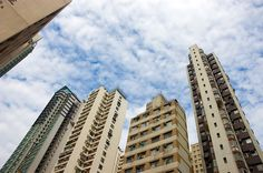 More pictures about buildings and sky (6) #HongKong