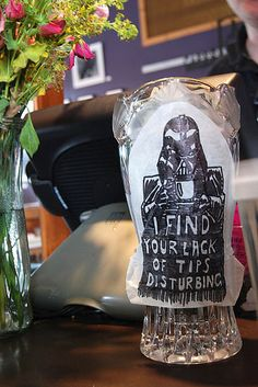 The Most Enticingly Amusing Tip Jars To Ever Grace A Countertop Funny Funny Tip Jars, Help Me Obi Wan, Funny Lists, Very Clever, Smosh, I Found You, Geek Out, Coffee Humor, Someecards